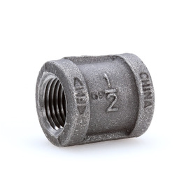 Mueller Proline 1/2-in dia Black Iron Coupling Fitting