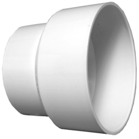 Charlotte Pipe 2-in Dia PVC Adapter Coupling Fitting