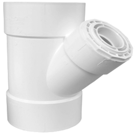 Charlotte Pipe 3-in Dia PVC Wye Fitting