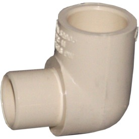 Genova 3/4-in x 1/2-in Dia 90-Degree Elbow CPVC Fittings