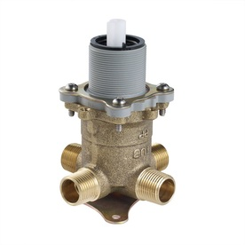 Pfister 1/2-in Brass Pex In-Line Rough-in Valve with Integral Stops